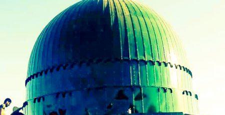 گنبد مدل مسجد النبی